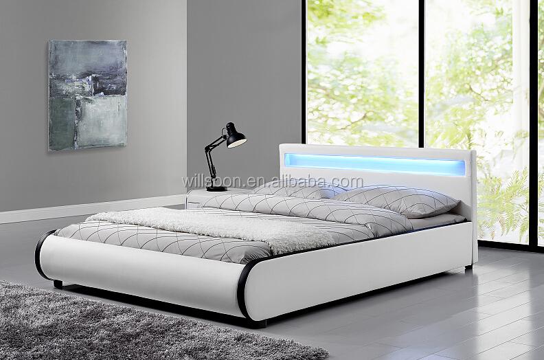 Oreiller Conception Couleurs Contrastées Rembourrés Tête De Lit Led - Tete de lit cadre photo