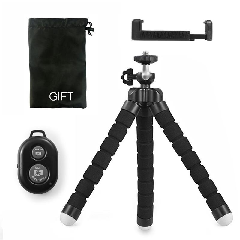 DUSZAKE гибкий мини-штатив Gorillapod для телефона, камеры Octopus, мини-штативы для мобильного телефона, штатив для iPhone Xiaomi Samsung(Китай)