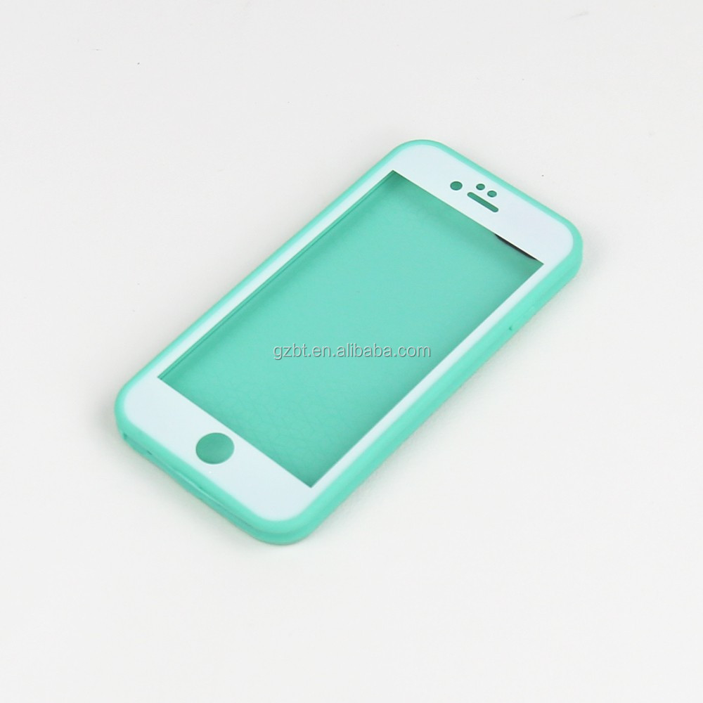 For iphone 6S 4.7 factory cheap price wateproof cover silicone gel soft case protect mobile