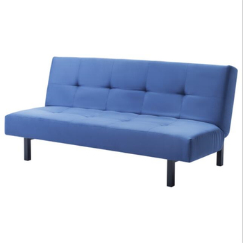 Retro Button Tufted Upholstered Fabric Sofa