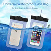2017 hot sale Waterproof Underwater Phone Pouch Bag Pack Case Cover For huawei p9 p8 p9 plus lite waterproof case