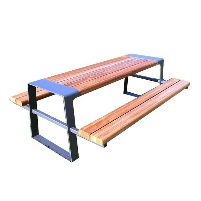 Swell Outdoor Park Plastic Wood Picnic Table Bench Set With Metal Legs Buy Picnic Table Bench Set With Metal Legs Wooden Picnic Table And Bench Outdoor Caraccident5 Cool Chair Designs And Ideas Caraccident5Info