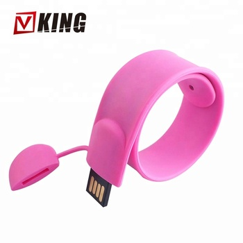 100% Real Capacity Pen Drive Silicone Bracelet Wrist Band 8Gb Flash Pen Drives Usb 2.0 Usb Gift