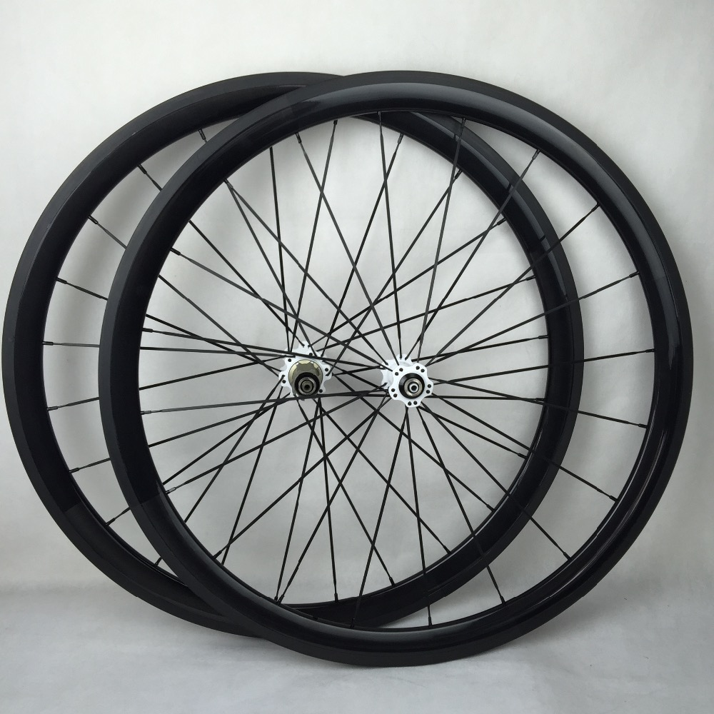 50mm clincher and tubular road racing wheels 700c bicycle carbon wheel sets