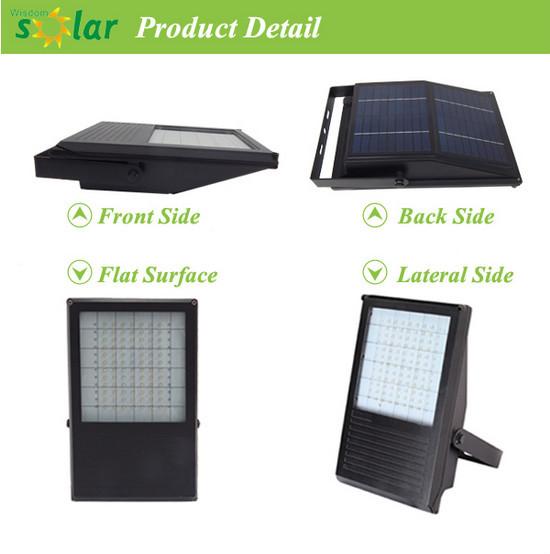 Outdoor Solar Flood Light With Pir Motion Sensor Solar Led Flood ...