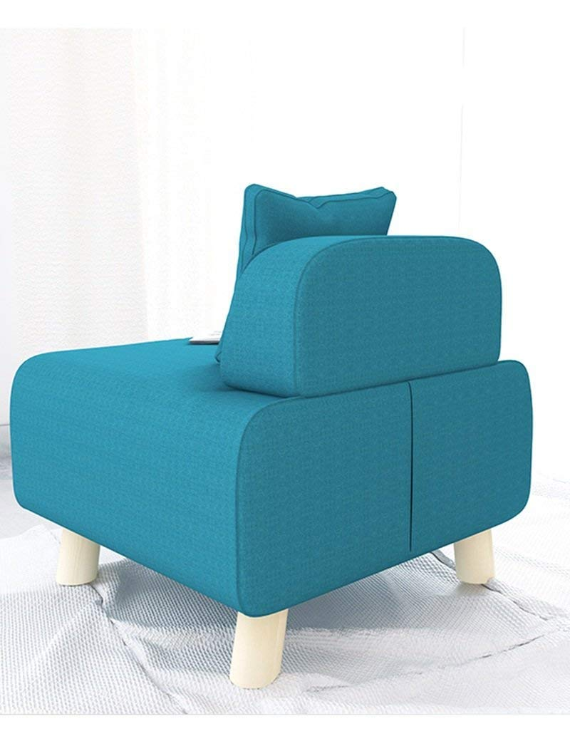 QTQZ Brisk- Rectangular Foldable Fabric is Included Sofa Stool Multifunctional Shoes for Stool Can Sit Human Storage Box Sofa Stool (Color Optional) (Color: A)