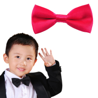 Hot selling plain baby infant boys bow ties with low price