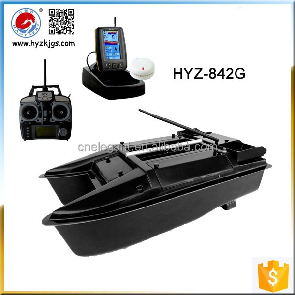 The Newest Model HYZ-842G RC Bait Boat With GPS