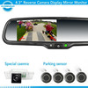 rearview mirror with parking assist auto dimming rearview mirror radar detector