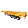 Low price drawbar Towing Dolly 20 ft 40 ft skeleton Container Full Trailer