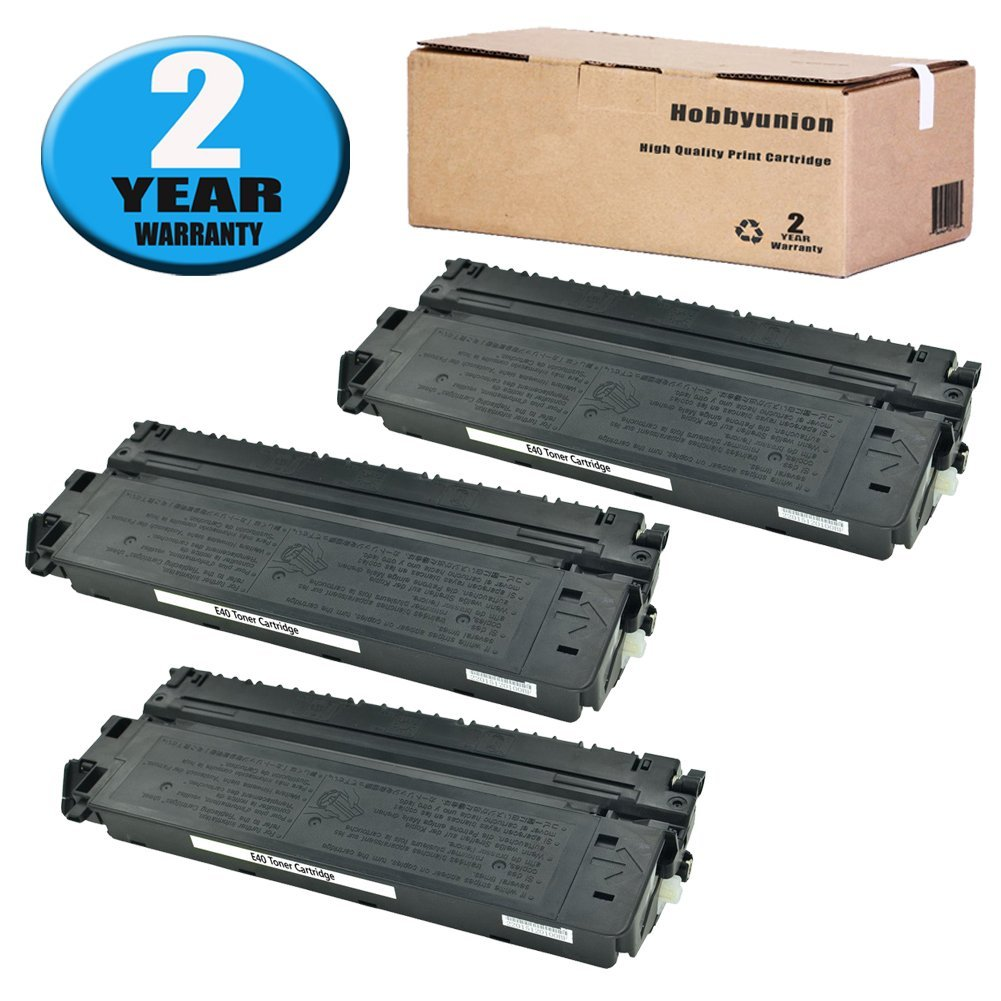Get Quotations · E40 E16 E31 Toner Cartridge 3 Pack High Yield Compatible  for Canon 1491A002AA PC 140 160