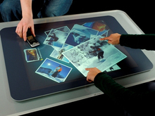 CE FCC certificated 50 inch Truly 4 points multi interactive touch foil