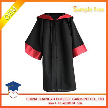 Children Matte Customized Graduation Gown And Cap - Buy Graduation ...