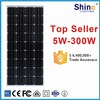Cheap price for Pakistan Afghanistan market 150W solar panel mono and poly type