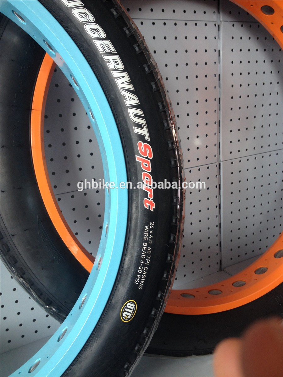 26inch 4.0 fatbike wheel set