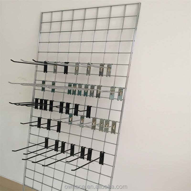 Store Fixtures Wire Grid Panel With Hanging Hook - Buy Grid Panel ...