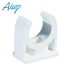 best sale tube fittings promotional plastic clamp pvc plastic pipe clip