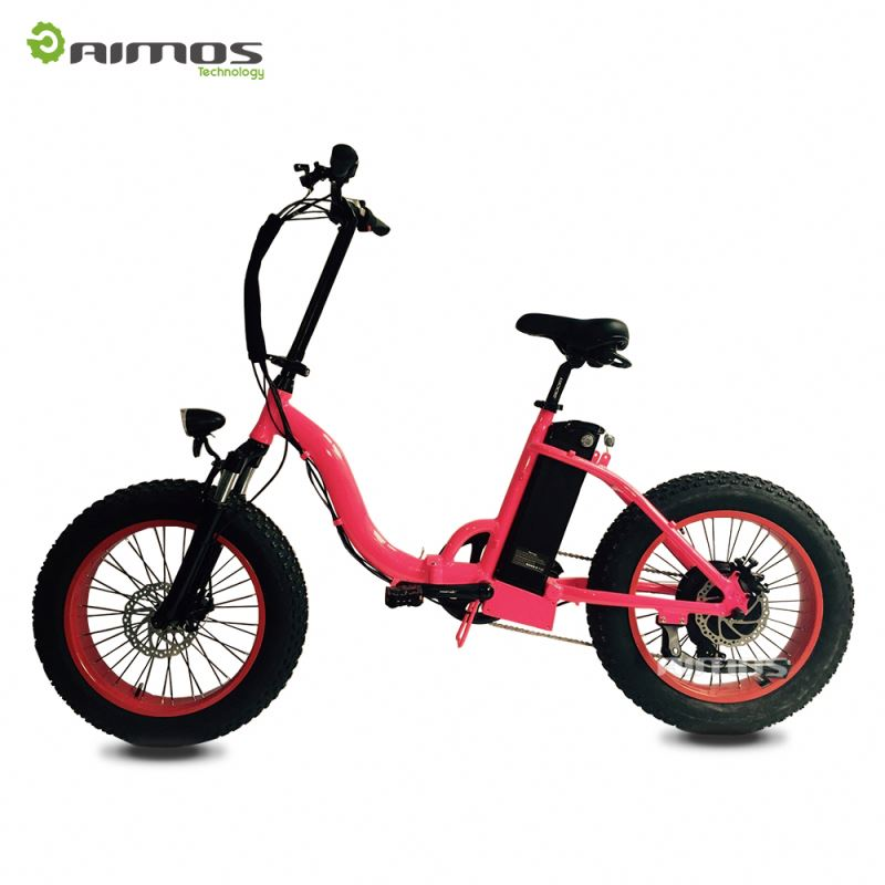 MOTORLIFE/OEM fat tire folding e bike/pantera electric bike