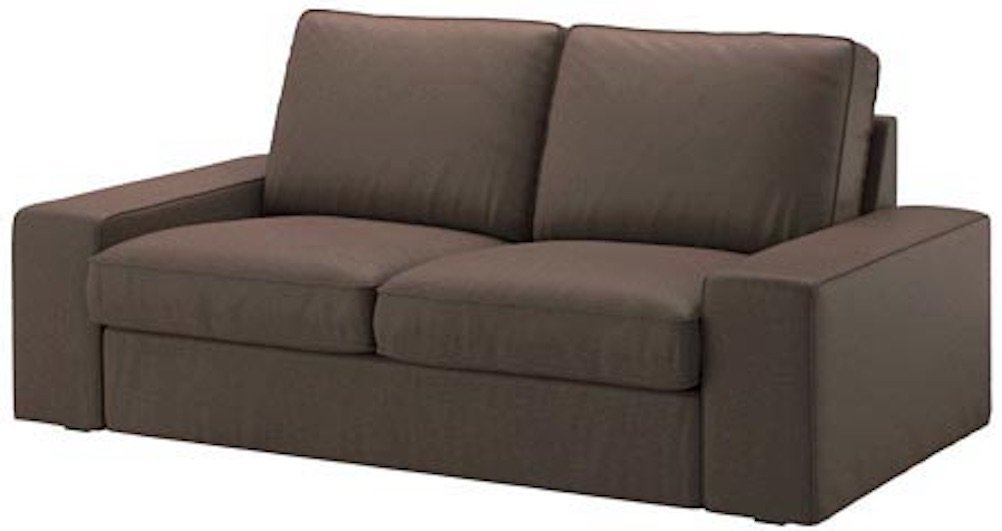 Get Quotations · The Durable Cotton KIVIK Loveseat Seat Sofa (73 3/4u201d)  Cover Replacement