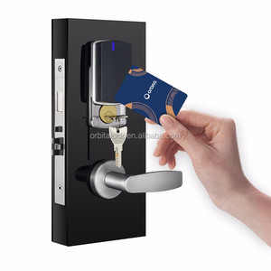 ORBITA 2018 The Best Quality Swipe RF Card Mortise Hotel Door Lock With Software