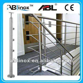 Modern Hand Rail Stair Parts,stainless Steel Stair Rail