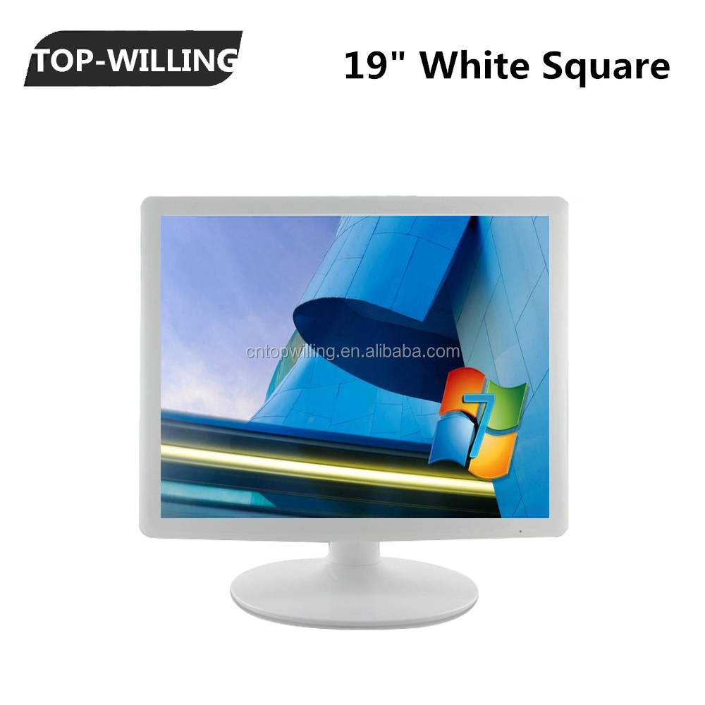 19 inch Square White Color LCD Monitor Medical Monitor 1280x1024 Resolution