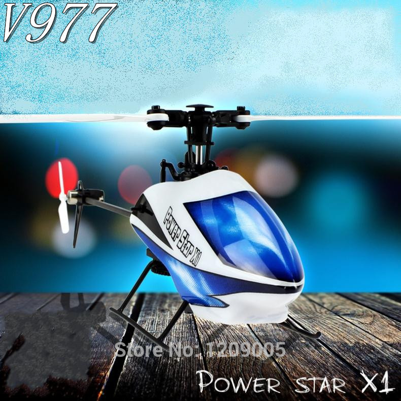 Newest WLtoys V977 Brushless 6CH RC Helicopter V966 Power Star X1 6G/3D
