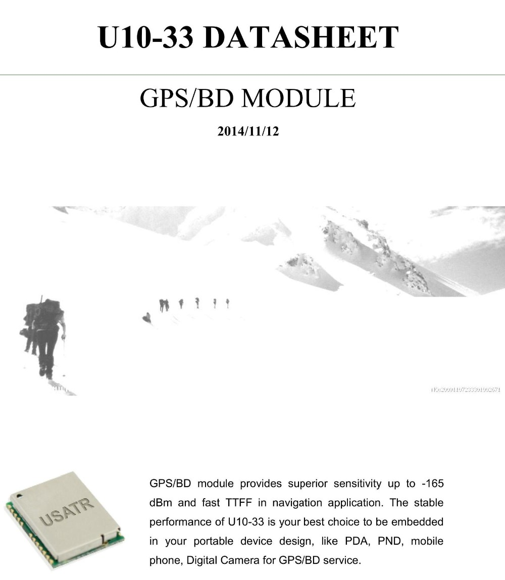 GPS Module for personal tracking automatic vehicle location