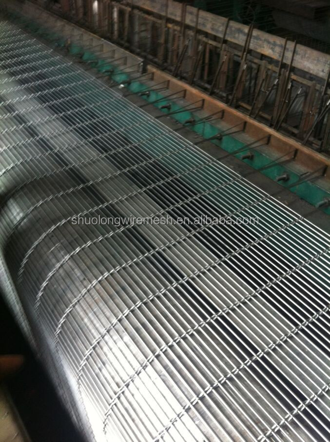 Hebei Manufactory Decorative Architectural Metal Wire Mesh Facade ...