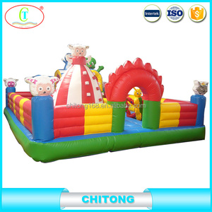 Double Stitch Technology Bouncer, Cheap Prices Bouncy Castle Using Sewing Machine