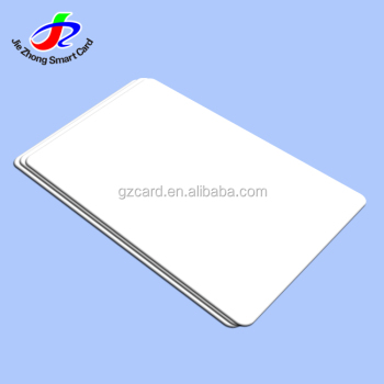 printable plastic cards blank white iso 7810 cr80 - Blank Plastic Cards