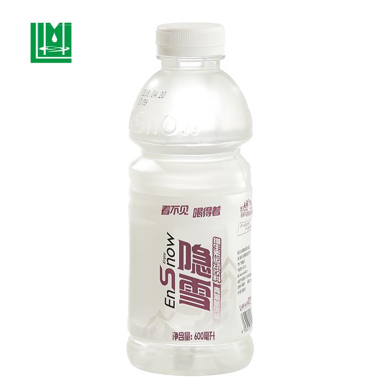 Pvc kunststoff schrumpf wrap hülse film etikettierer für trinken sport wasser flasche