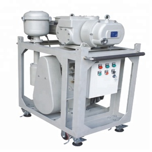 high pressure vacuum pumping unit with Roots booster vacuum pump set