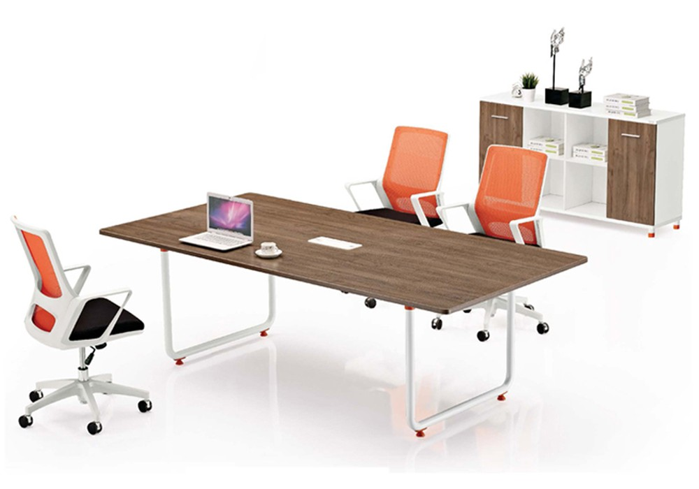 2016 Simple Modern Office Furniture Metal Frame 4 Seater ...