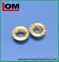 New style hotsell cnc machining pipe fitting brass parts