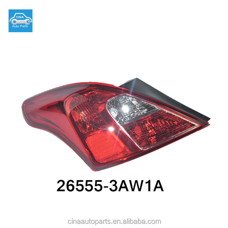 nissans parts tail light 26555-3AW1A tail lamp for nissans sunny