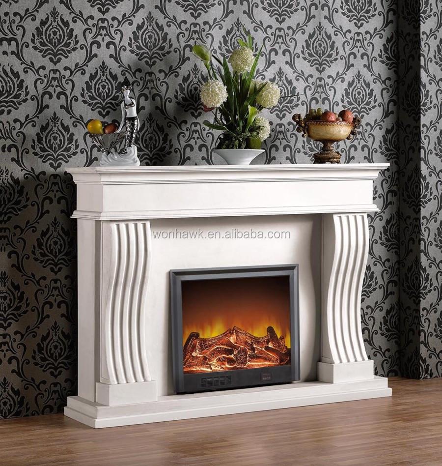 Moderne flamme foyer électrique, décoration flamme foyer ...