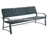 2014 Hot sale blow mold outdoor molded cheap plastic bench