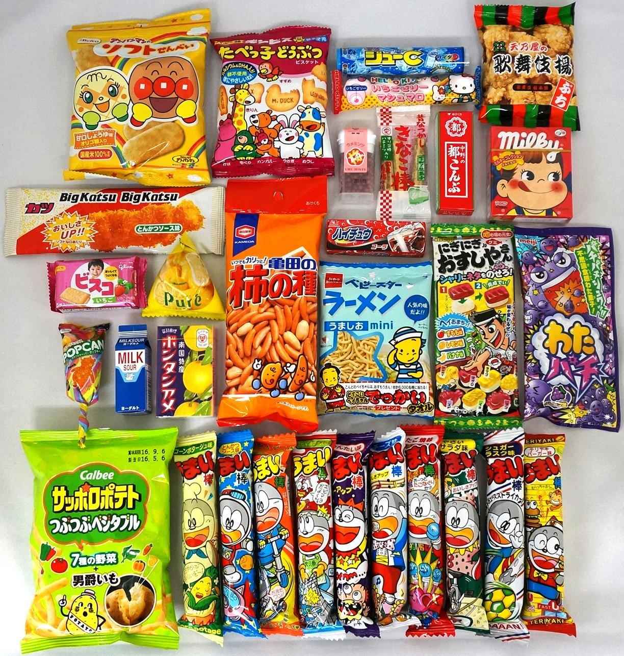 "Assorted Japanese Junk Food Snack ""Dagashi"" NT6000019"