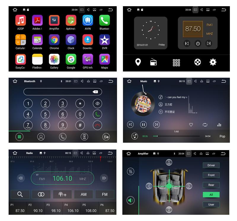 Lecteur DVD de voiture 9incn 1din Android 9.0 pour BMW série 3 E90 E91 E93 E93 2005-2012 Quad core GPS Navigation autoradio multimédia