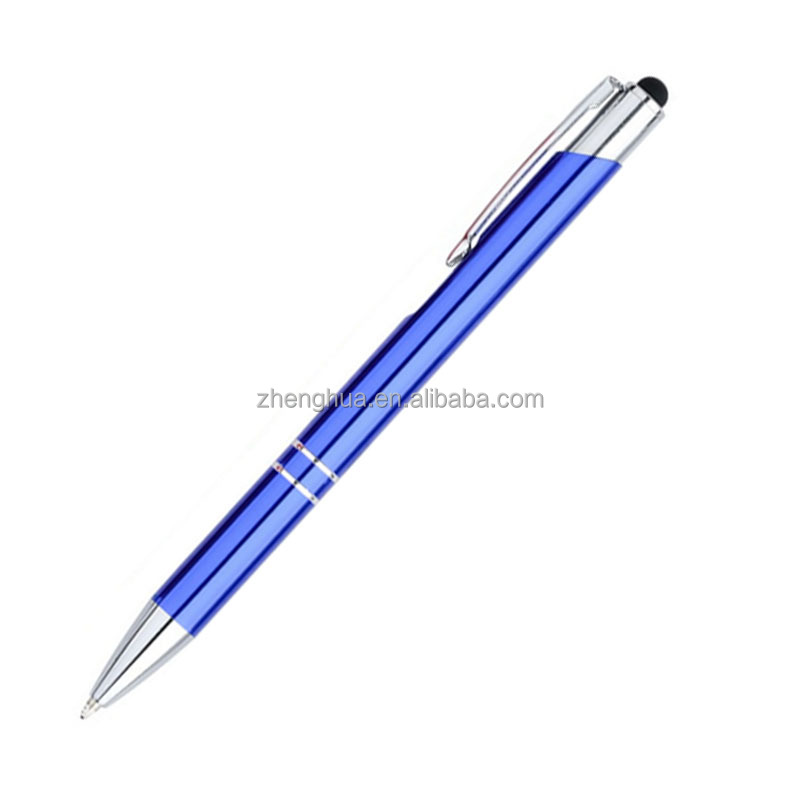 High quality advertising metal gift pen with stylus