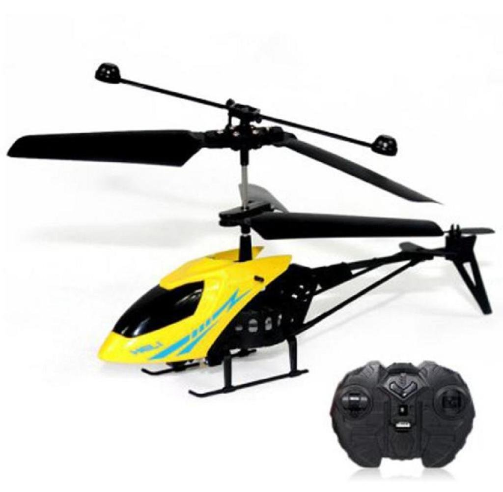 Shensee RC 901 2CH Mini RC Helicopter Radio Remote Control Aircraft Micro 2 Channel,Yellow