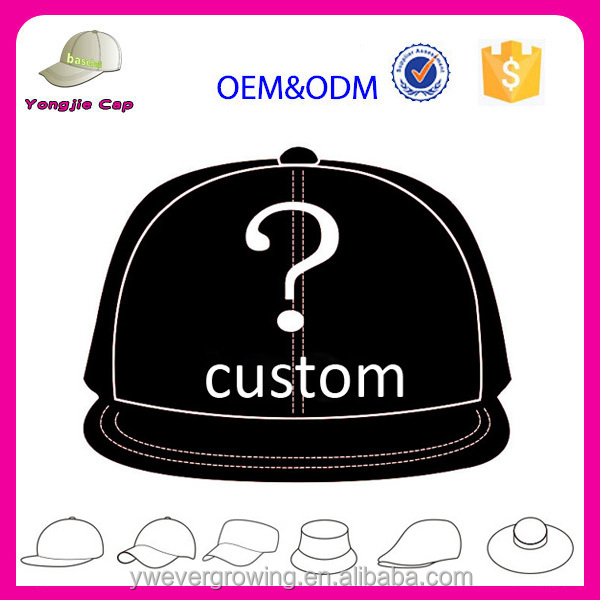 9314f5b9619 LOGO Custom Adult Kids Size Embroidery Printing Logo Fitted Full Complete  Closed China Factory Baseball Snapback Cap