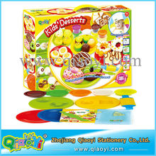Educational Play Dough Set Hamburger Dough