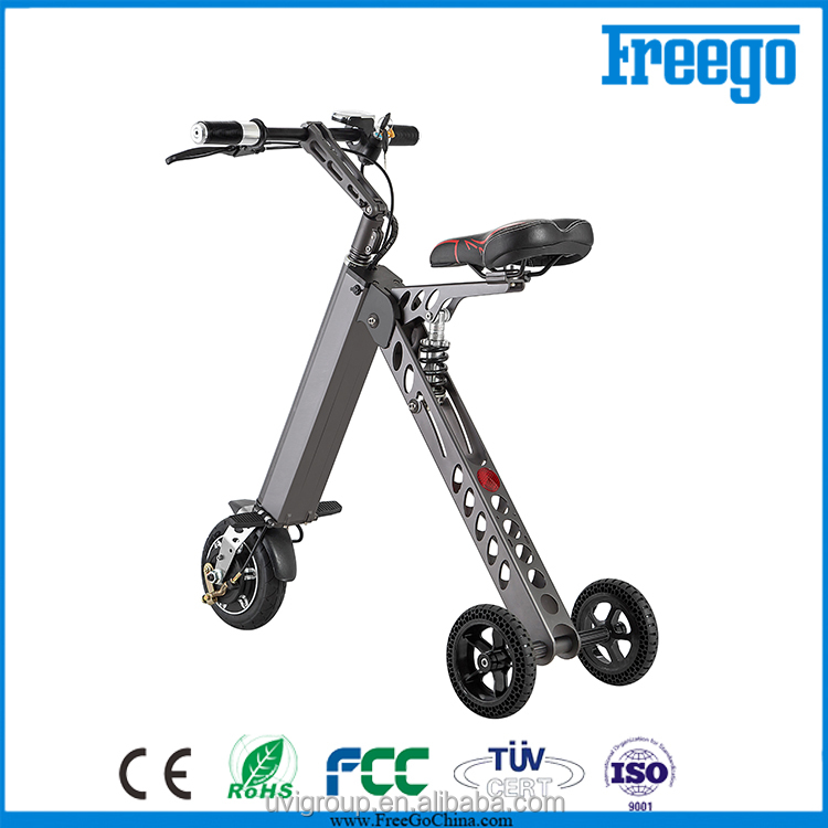 Folding Easy Rider electric scooter 250w,trike motorcycle sale