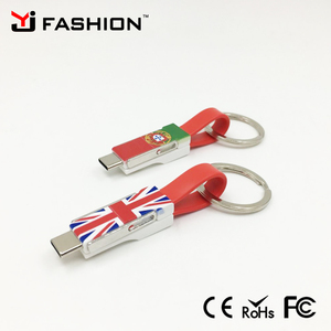 Mini usb cable fast charge for iphone 7 mobile usb cable for samsung