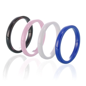 Casual Match Bulk Sale Wholesale Jewelry Ceramic Ring Stacking Rings