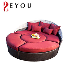 Garden Sun Lounger Rattan Day bed Outdoor Furniture