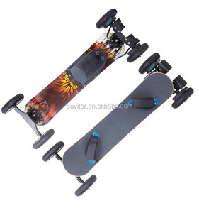 Factory Directly skate board Double Motor Electric SkateBoard Long Board 1600w Dirt skateboard with Remote Control (ESK07)