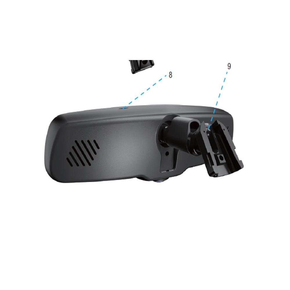 2019 車のダッシュカム DVR 360 パノラマビデオカメラリアビューミラーフル hd 1080 1080p 車タッチスクリーン fhd DVR レコーダー